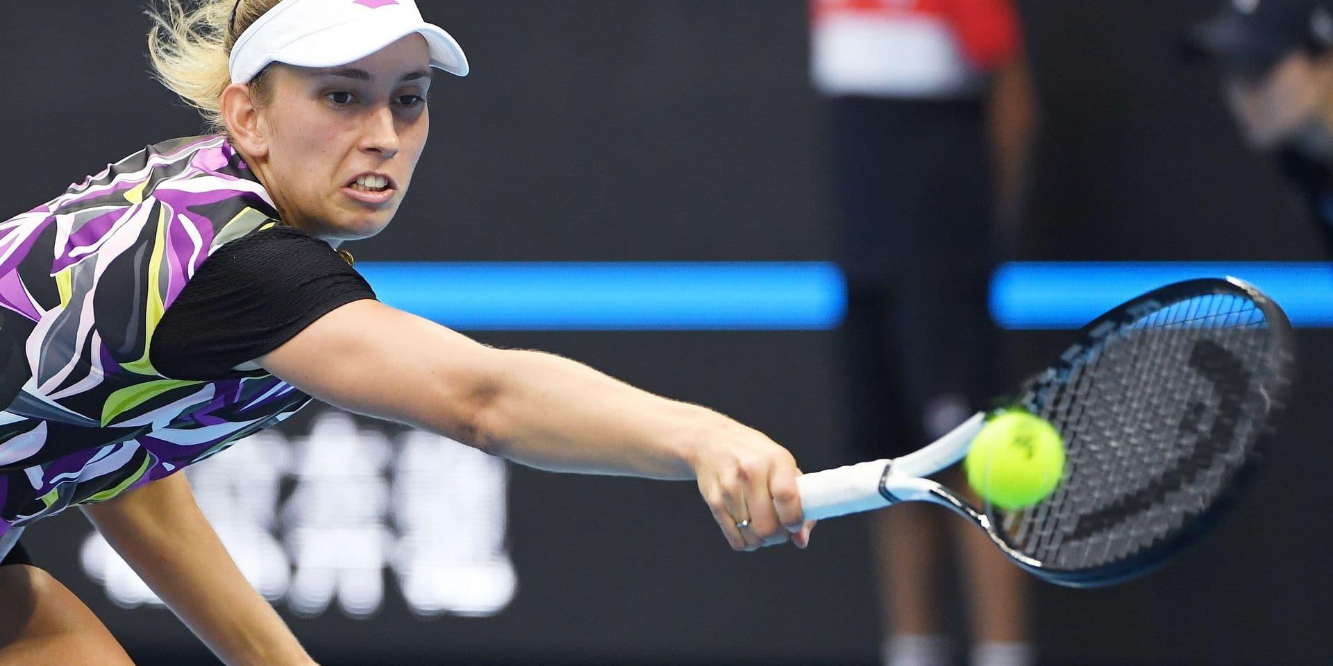 """Elise Mertens sur sa défaite face à Bianca Andreescu: """"J'étais encore proche d'elle, comme à New York"""""""