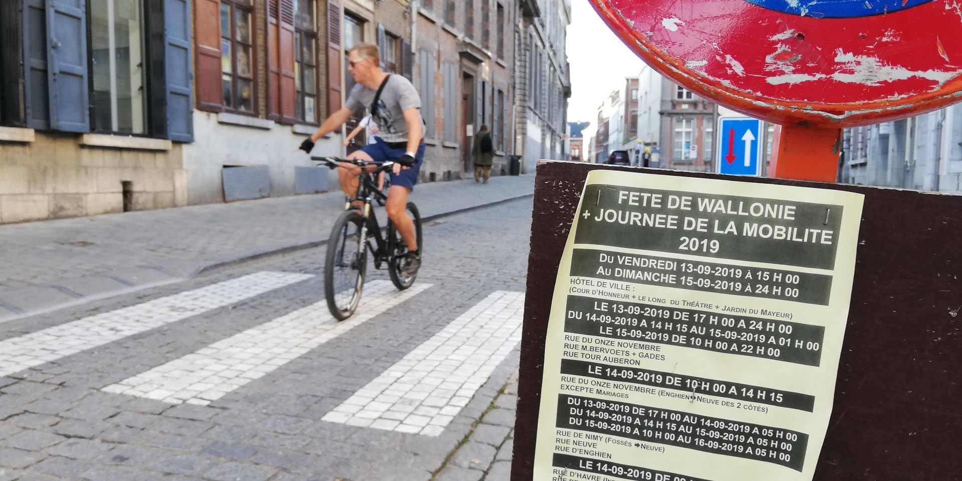Mons: la mobilité douce à la fête dans le centre-ville