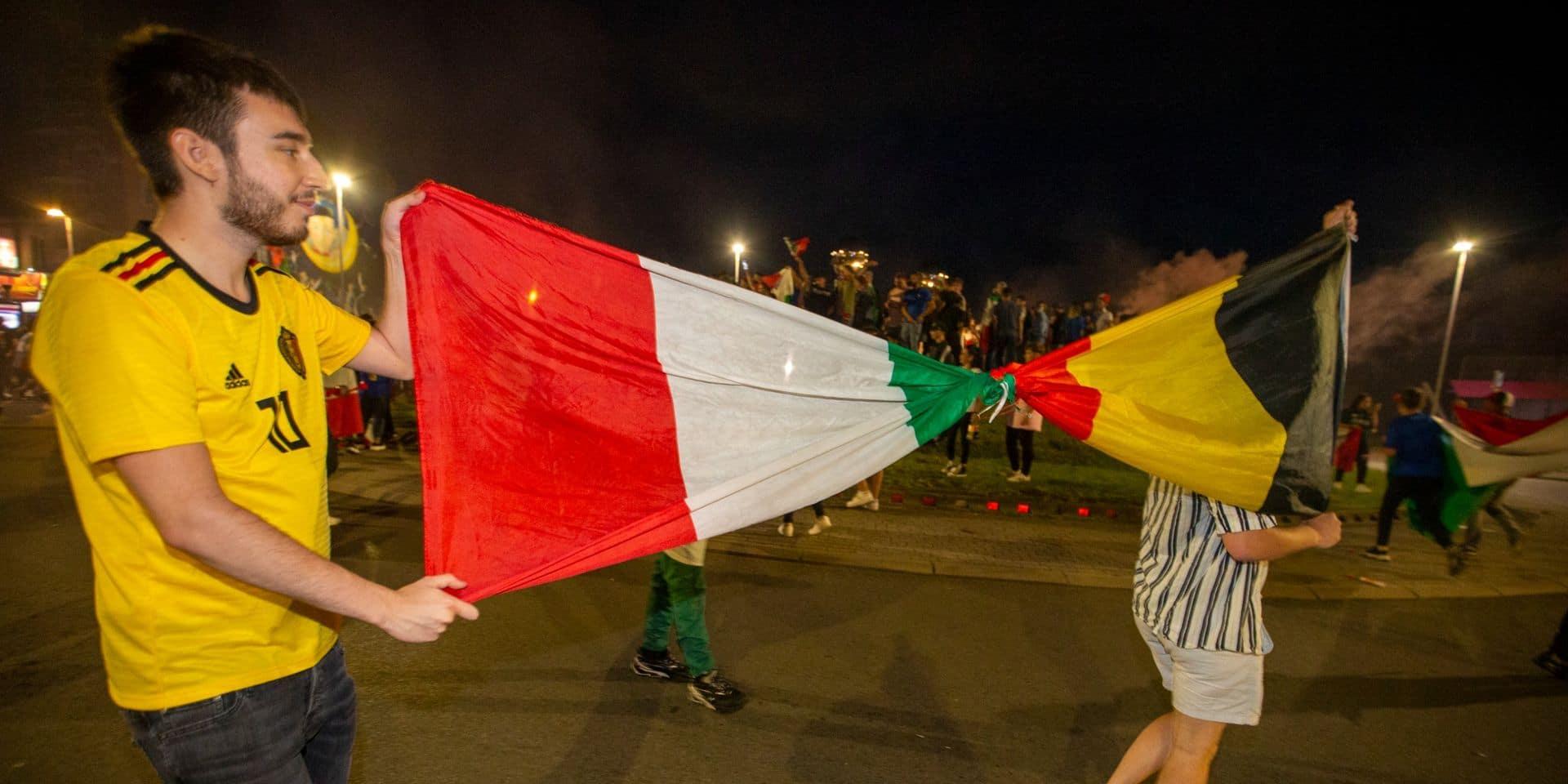 Hauts-Pays: des sanctions tombent à la suite du match Belgique-Italie
