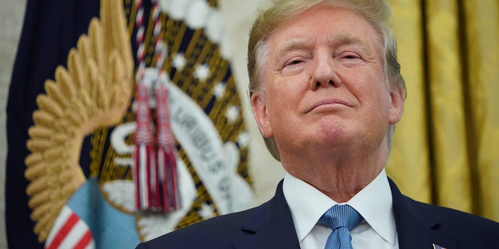 Avant de s'envoler pour Biarritz, Donald Trump fait un dernier pied de nez au G7