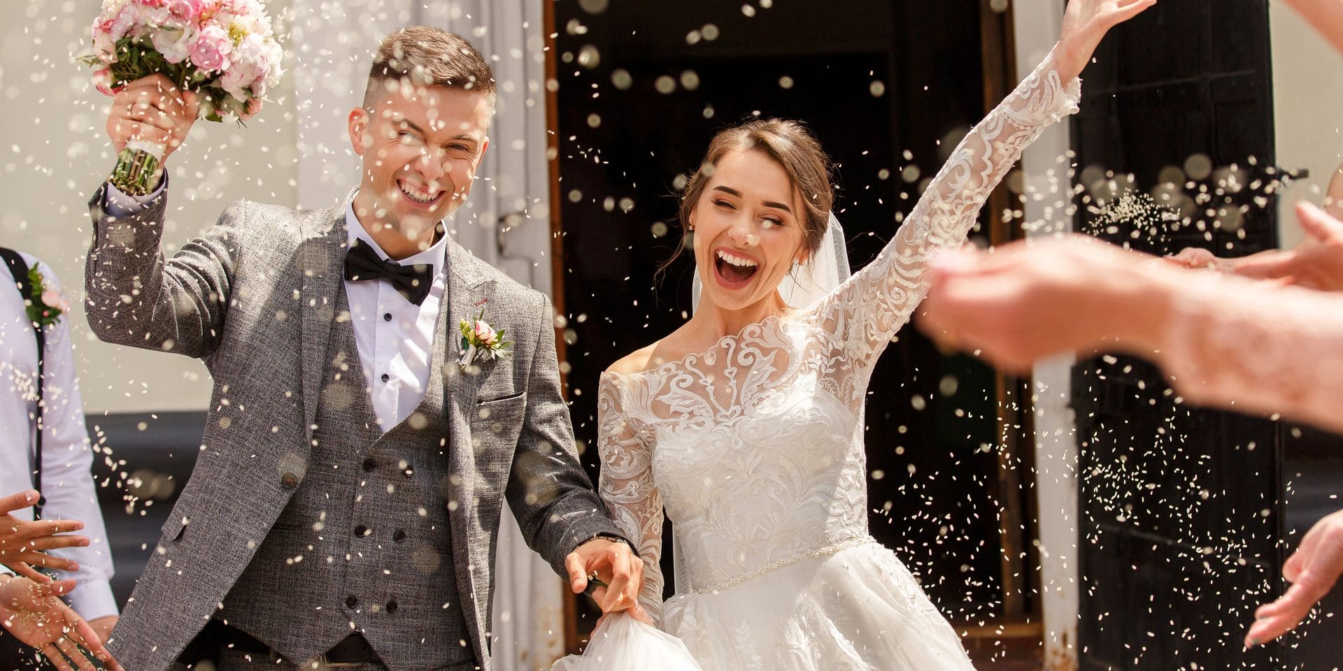 Happy,Wedding,Photography,Of,Bride,And,Groom,At,Wedding,Ceremony.