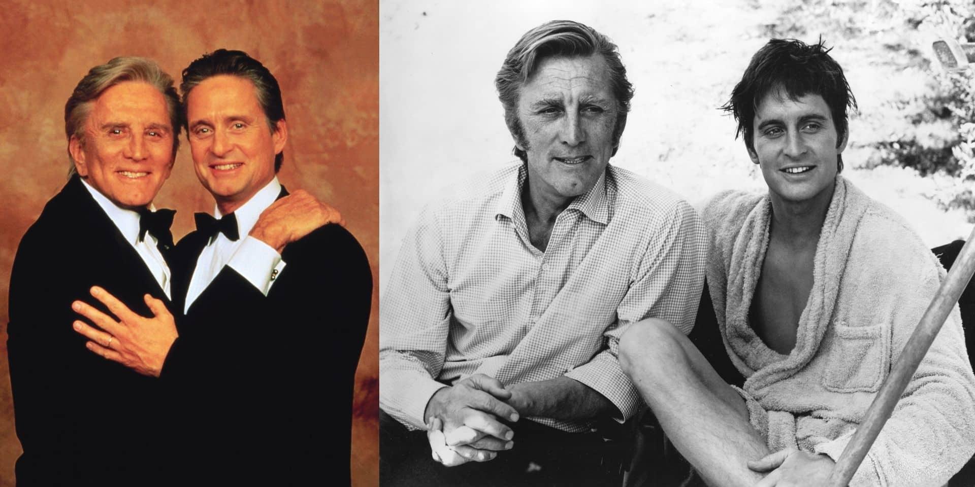 """Michael Douglas et l'image de son père: """"A mes débuts, tout le monde cherchait à le retrouver en moi"""""""