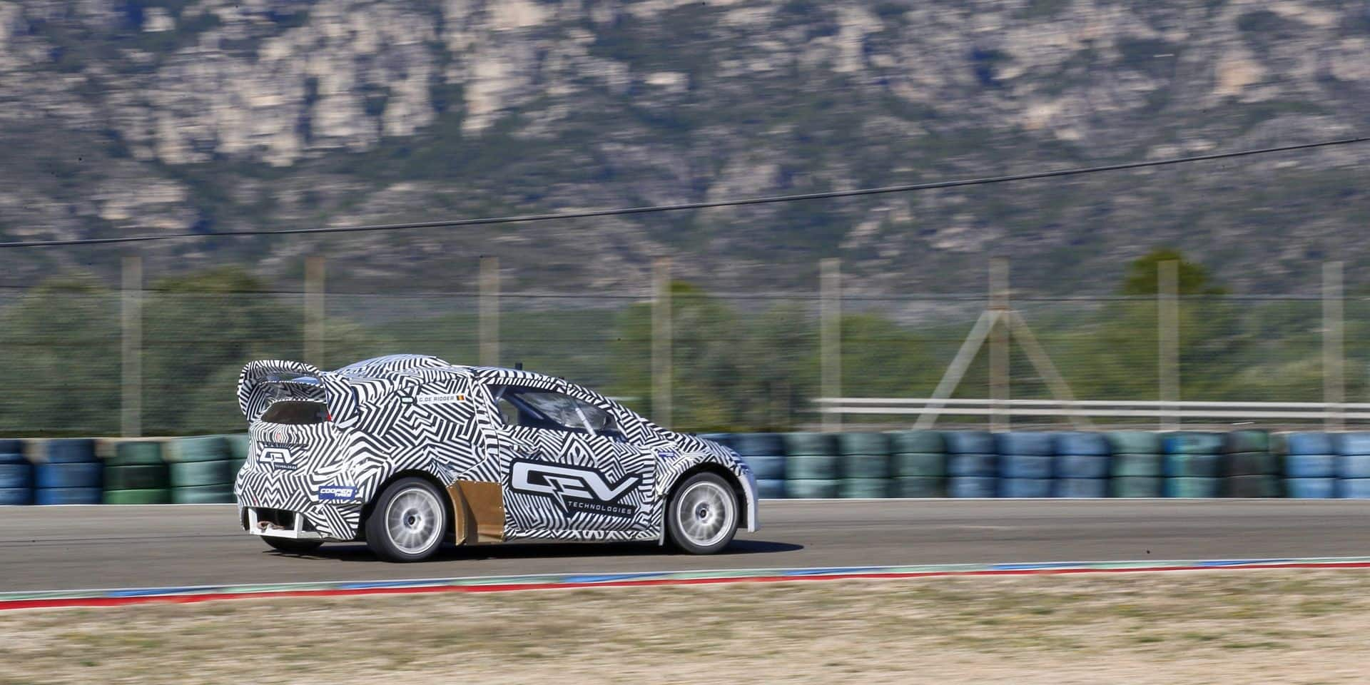Guillaume De Ridder s'engage en rallycross électrique (RX2e) avec le team Olsbergs