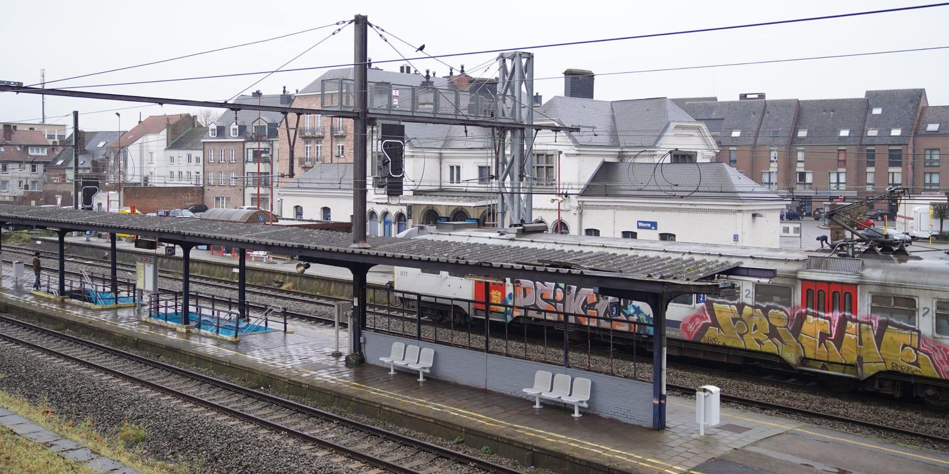 Il y aura bien une passerelle entre le plateau de la gare de Wavre et la rue de l'Ermitage