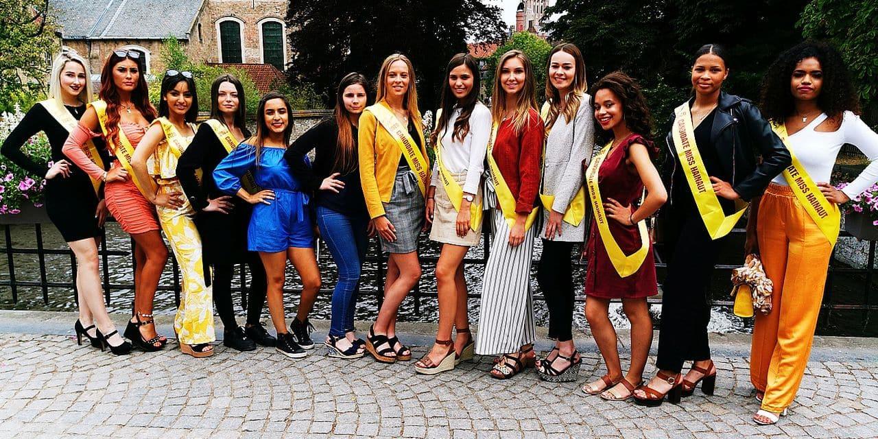 Miss Belgique 2020 : 50 candidates dans les rues de Bruges