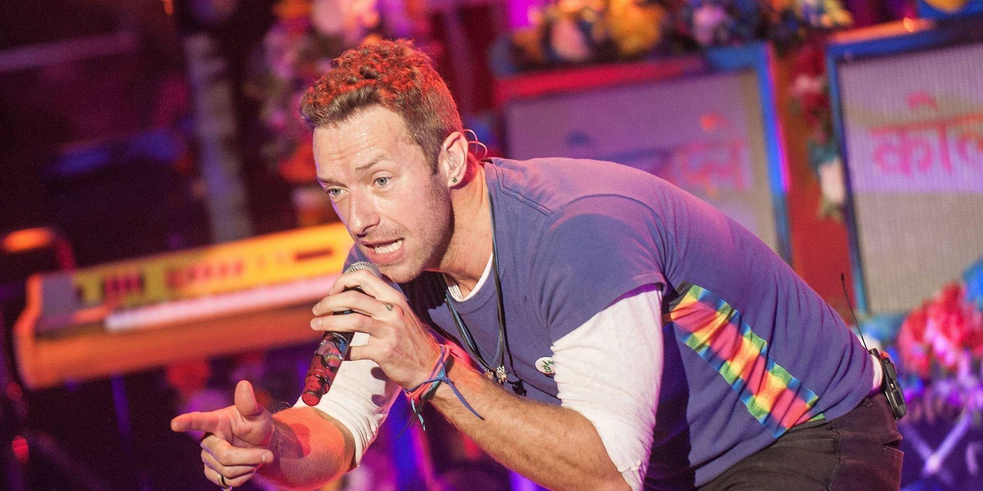 """Coldplay ne fera pas de tournée pour des raisons écologiques: """"Nous voulons la meilleure version possible sur le plan environnemental"""""""