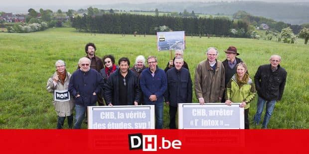 Magnée ( Fléron ) : un groupe d'opposants à la liaison autoroutière Cerexhe-Heuseux-Beaufays ( CHB )