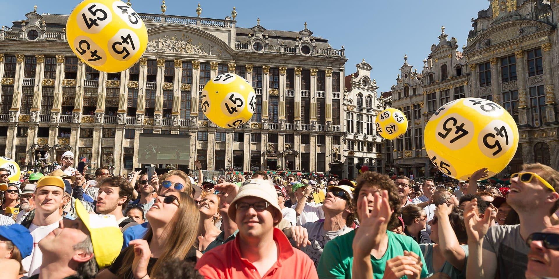 """Vos mises soutiennent de nombreuses causes et événements: """"Sans la Loterie nationale, il n'y aurait pas eu de Grand Départ du Tour de France à Bruxelles"""""""