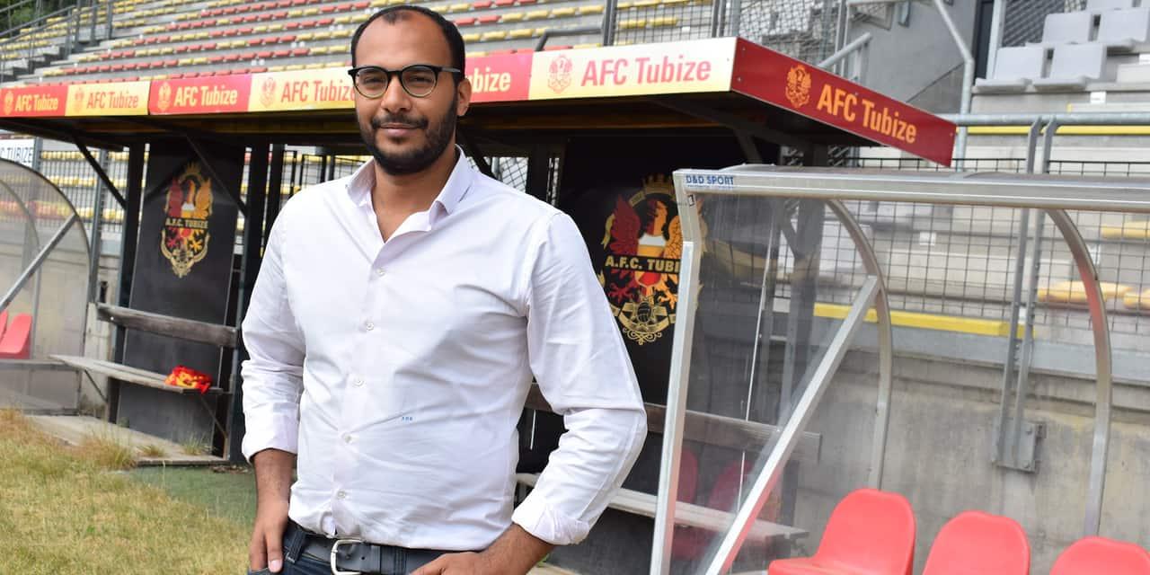 """Aubry De Koster (manager de l'AFC Tubize): """"Retrouver une crédibilité financière et un ancrage local"""""""