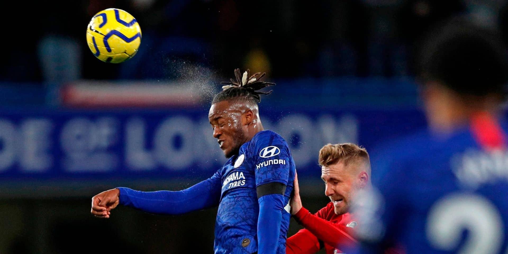 Chelsea et Michy Batshuayi battus par Manchester United