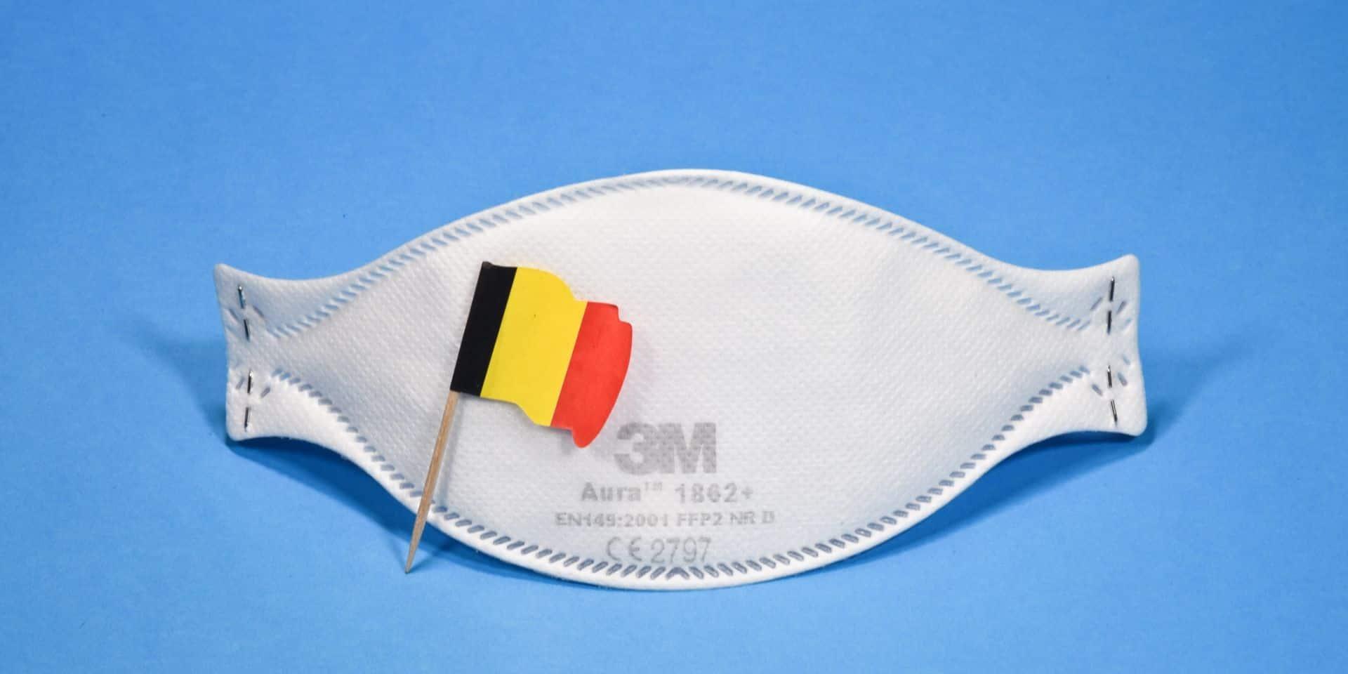 Coronavirus en Belgique : le nombre moyen de contaminations quotidiennes atteint 778 cas