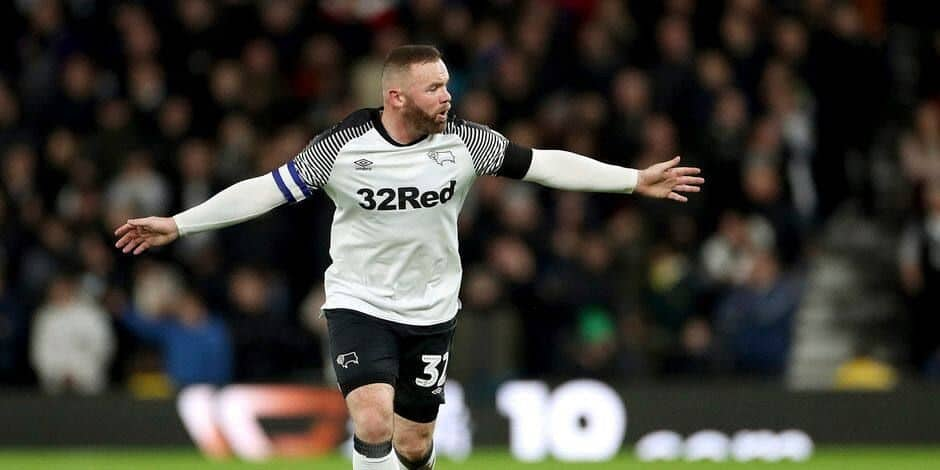 Wayne Rooney succède temporairement à Philip Cocu à la tête de Derby County