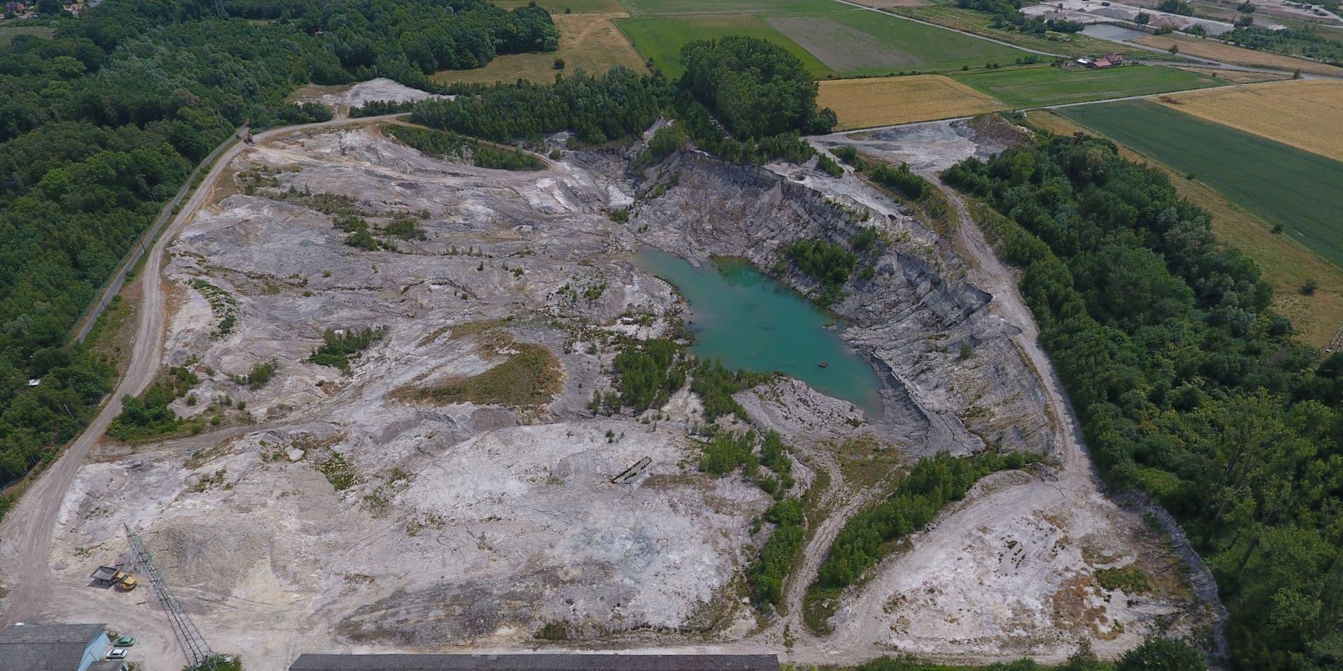 Hautrage: le projet de remblayage de la Carrière du Danube se dévoile