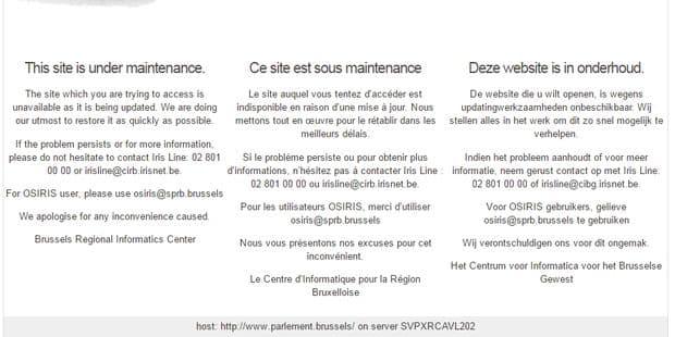 Irisbox et de nombreux sites communaux en panne depuis vendredi - La DH