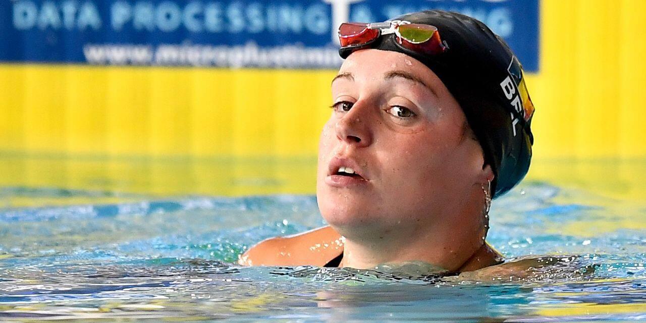 Natation : Fanny Lecluyse bat son record de Belgique du 200 m brasse à Rome