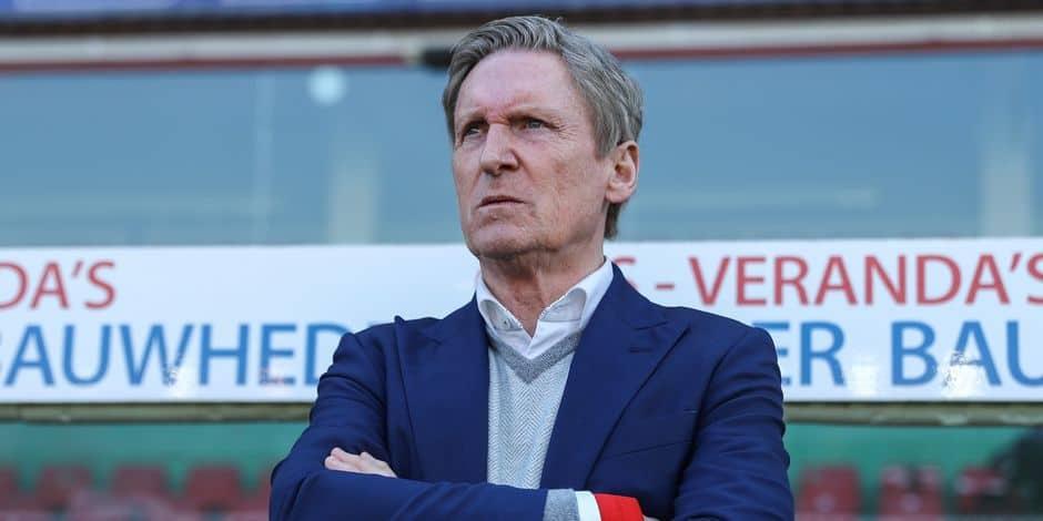 Clap de fin pour Francky Dury: le coach légendaire de Zulte Waregem va connaître sa dernière saison
