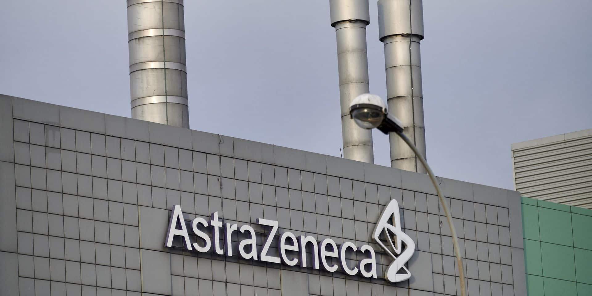 AstraZeneca a vu son bénéfice s'envoler au premier trimestre