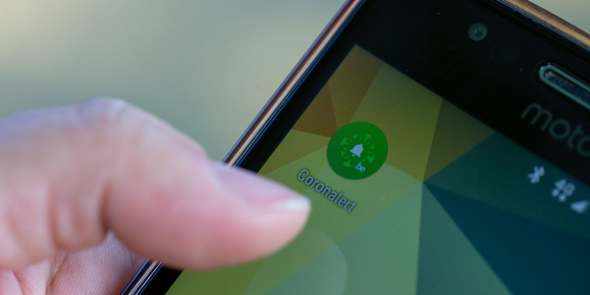 "Environ 15% de la population belge utilise l'application ""Coronalert"""