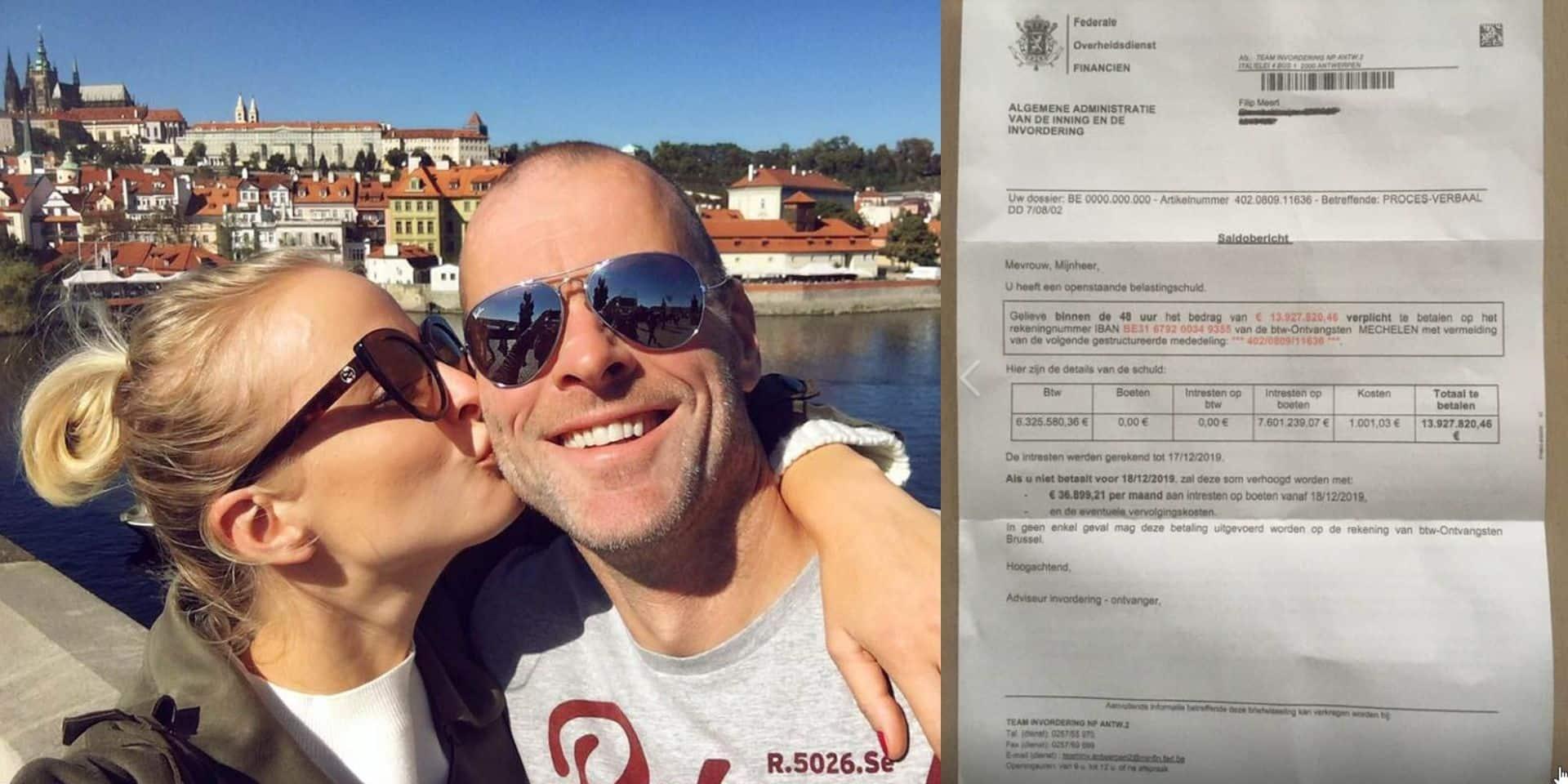 """Le compagnon d'Alizée Poulicek doit payer une amende de... 14 millions d'euros: """"Est-ce que je peux payer en deux fois ?"""""""