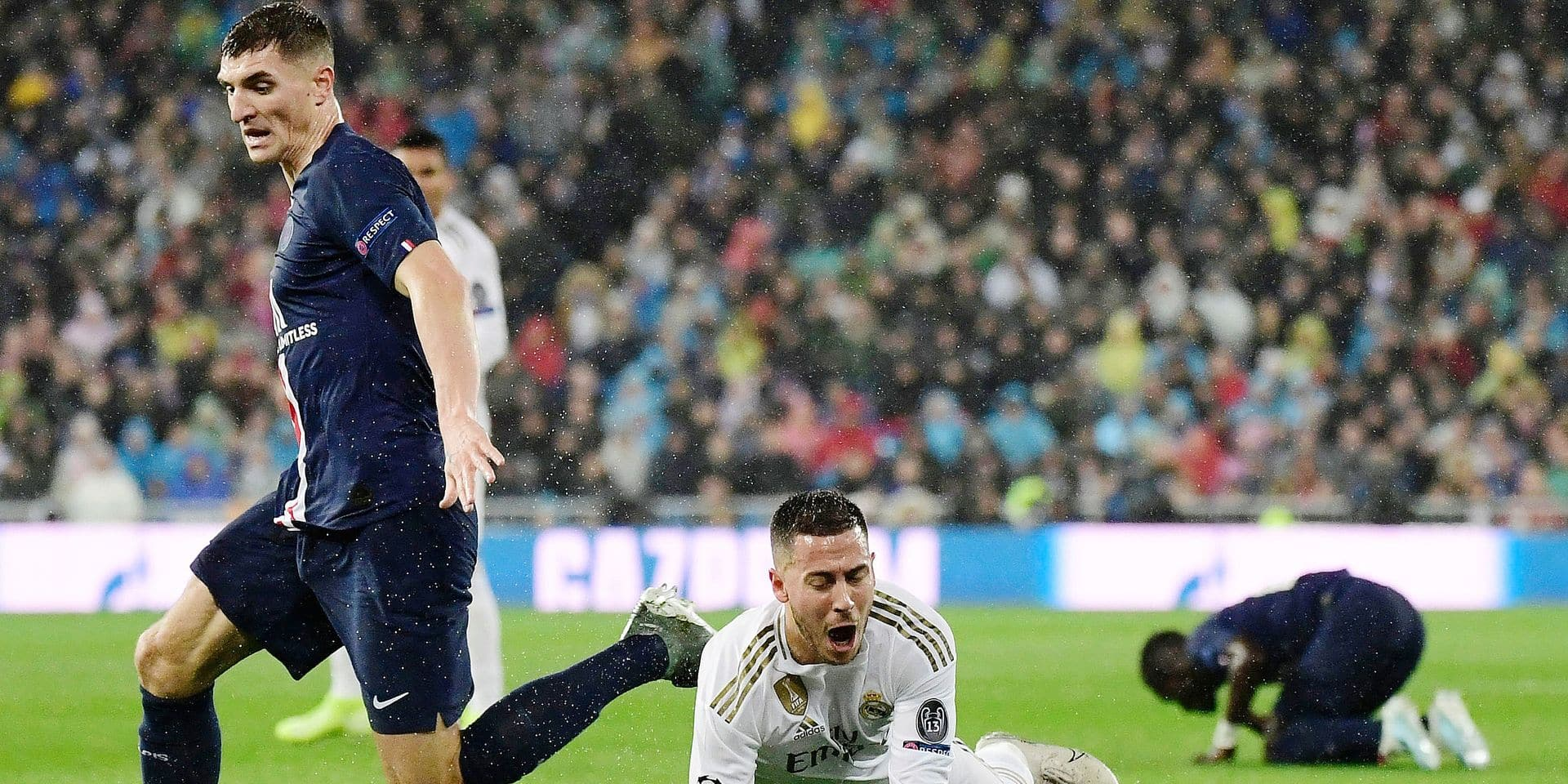 """Thomas Meunier au sujet de la blessure d'Eden Hazard: """"Je m'en veux, j'ai essayé de le contacter directement après le match"""""""