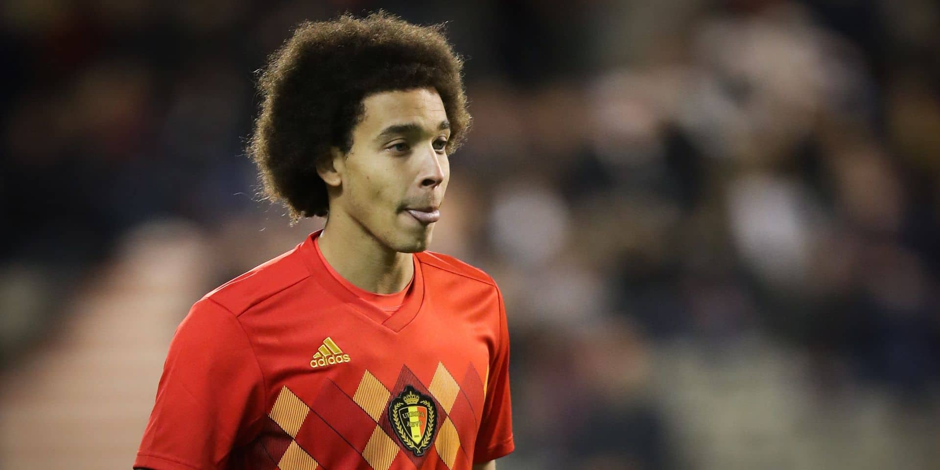Belgium's Axel Witsel pictured during a friendly soccer game between Belgian national team Red Devils and Mexico, Saturday 11 November 2017, in Brugge. BELGA PHOTO VIRGINIE LEFOUR