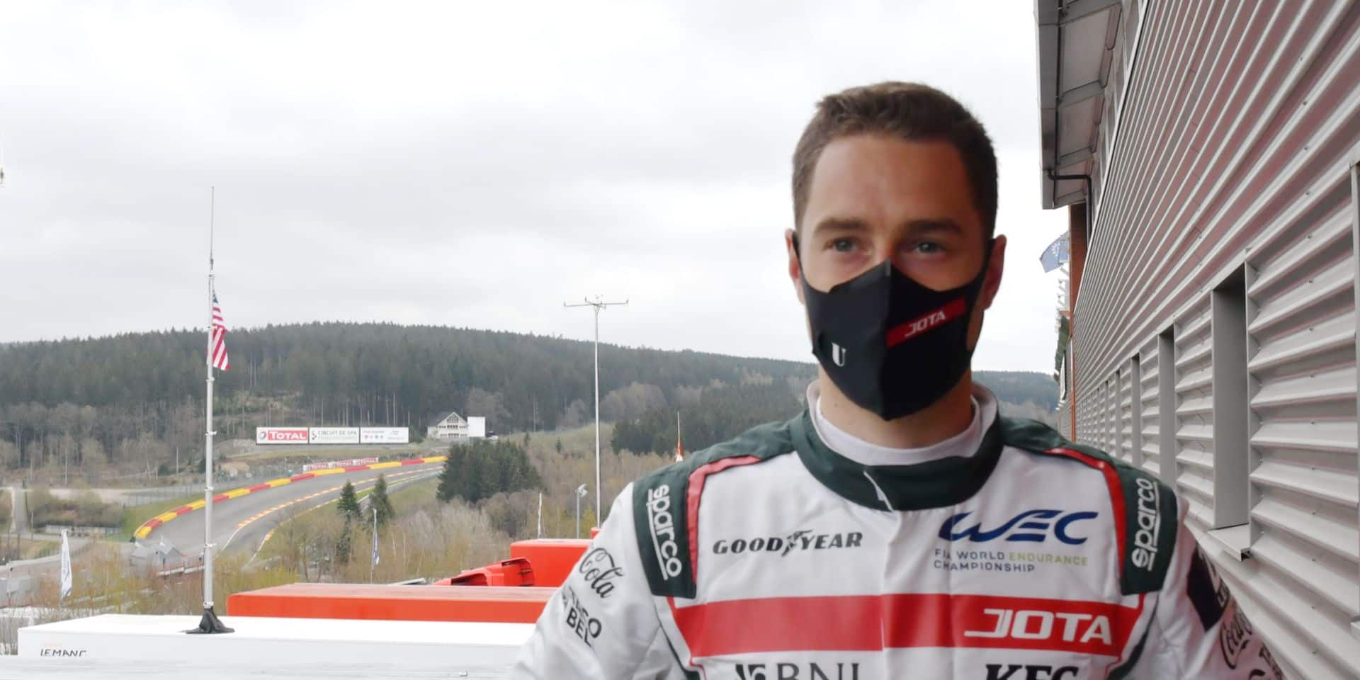"""Stoffel Vandoorne, de retour à Francorchamps: """"Je répète à Sean de se calmer"""""""