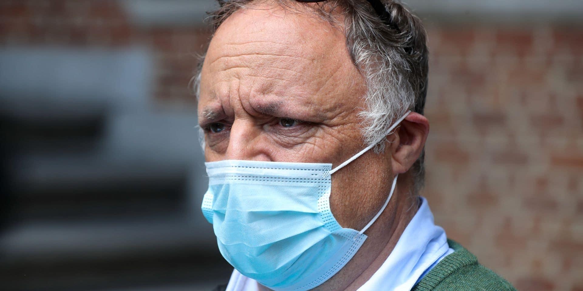 """Marc Van Ranst sur la suppression du masque obligatoire en Flandre : """"La seule mesure qui peut encore être prise"""""""