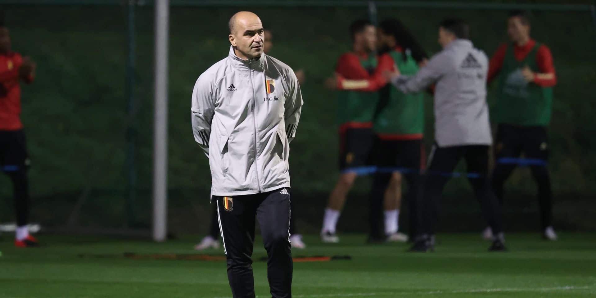 """Martinez sur la présence de Lukaku : """"Je suis optimiste, mais il y a toujours un doute"""""""