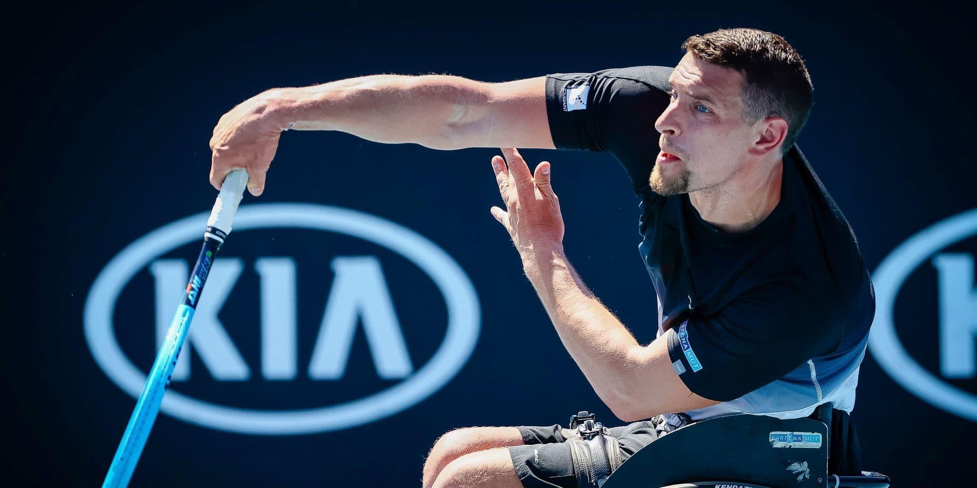 US Open : Joachim Gérard se hisse en demi-finale du tournoi en chaise roulante