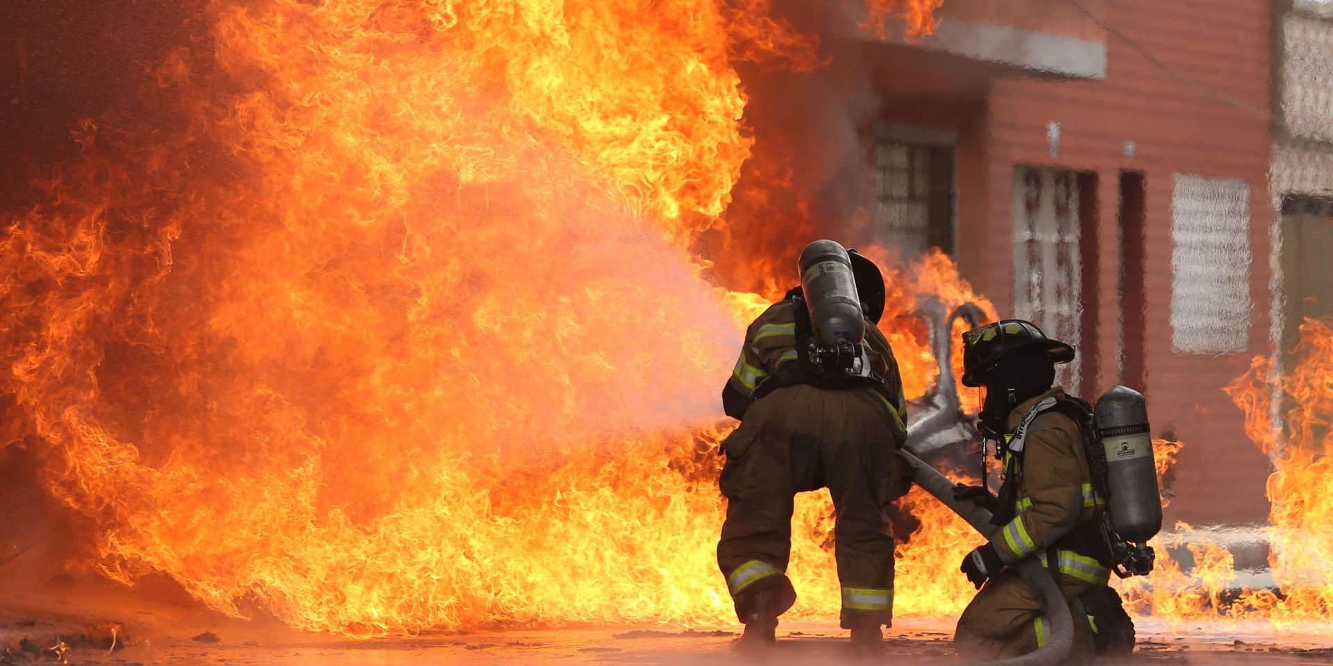 Plusieurs blessés dans un incendie à Liège