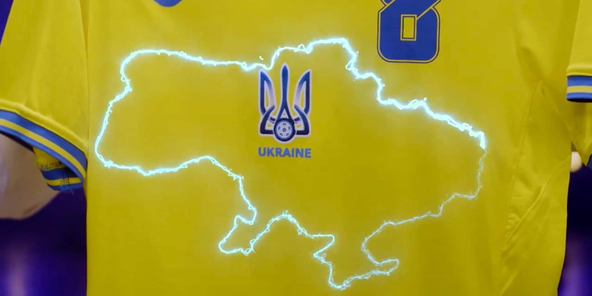 """Euro 2020 : l'Ukraine va """"couvrir"""" le slogan contesté sur son maillot"""