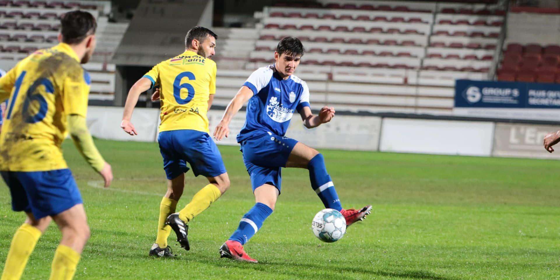 D3A ACFF: Symphorinois et Aische se mordent les doigts, première victoire pour Namur