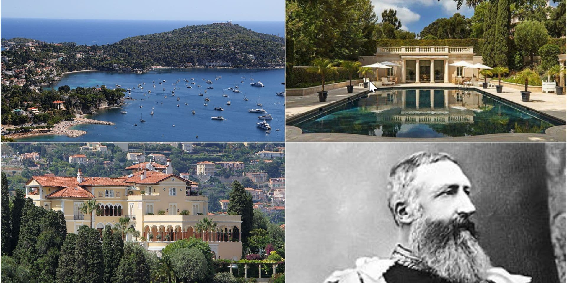 Une ancienne propriété de Léopold II sur la Côte d'Azur vendue pour 200 millions d'euros
