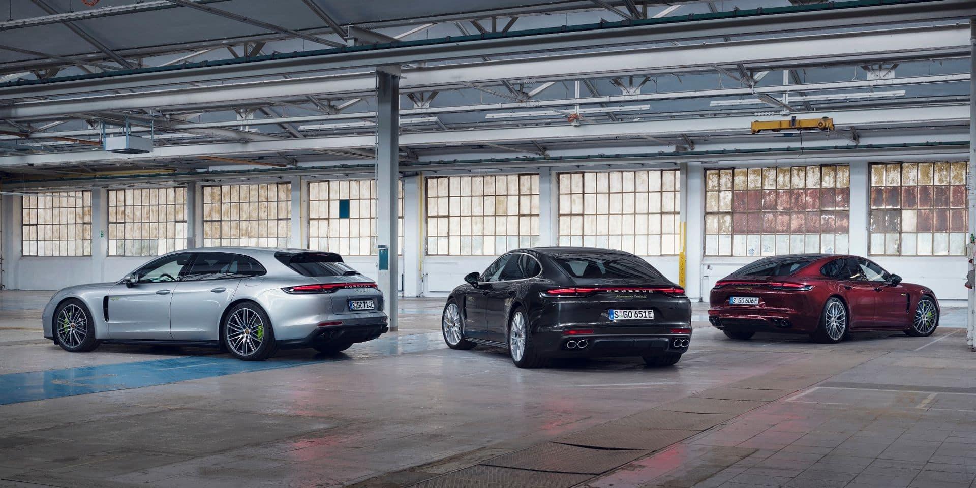 Porsche Panamera : 700 chevaux et… 62 grammes de CO2 !