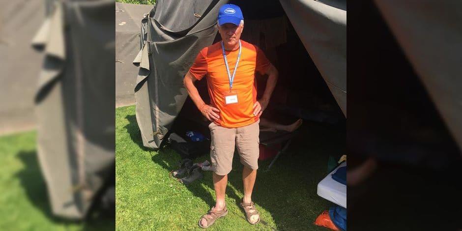 Un Thudinien, Bernard Hubert, va marcher 30 km pour Viva for Life