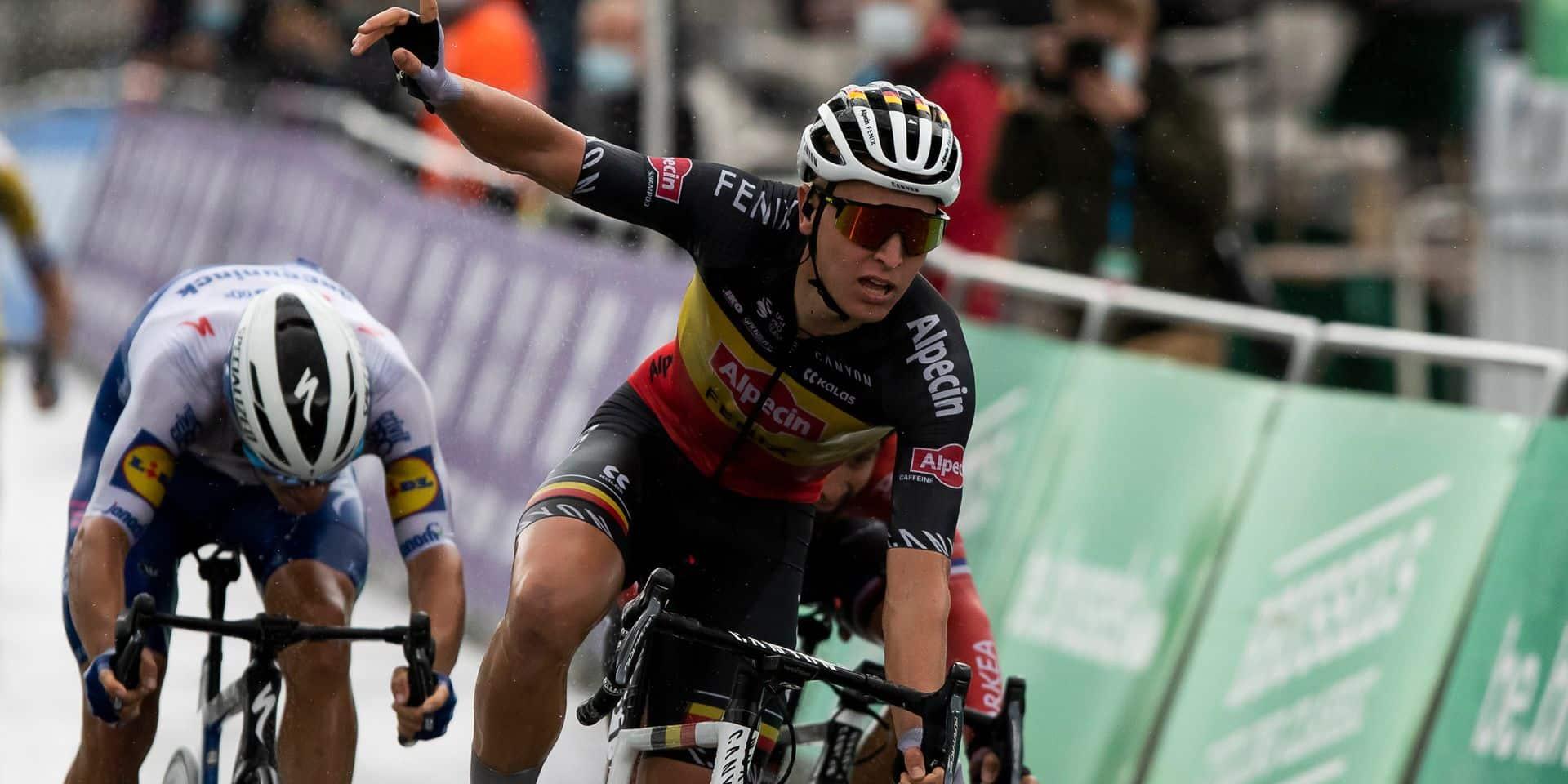 """Merlier après sa victoire au Brussels Cycling Classic : """"Heureux de pouvoir gagner à nouveau"""" (VIDEO)"""
