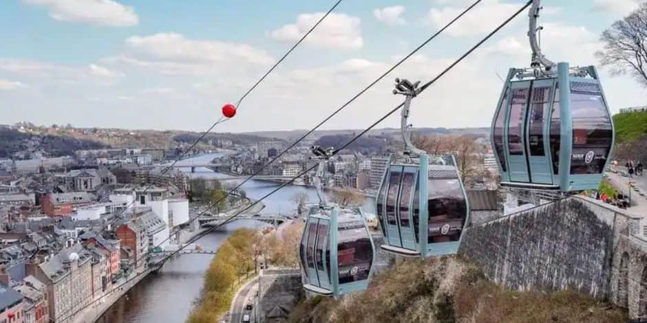 Téléphérique de la Citadelle de Namur : ce que vous devez savoir avant l'ouverture