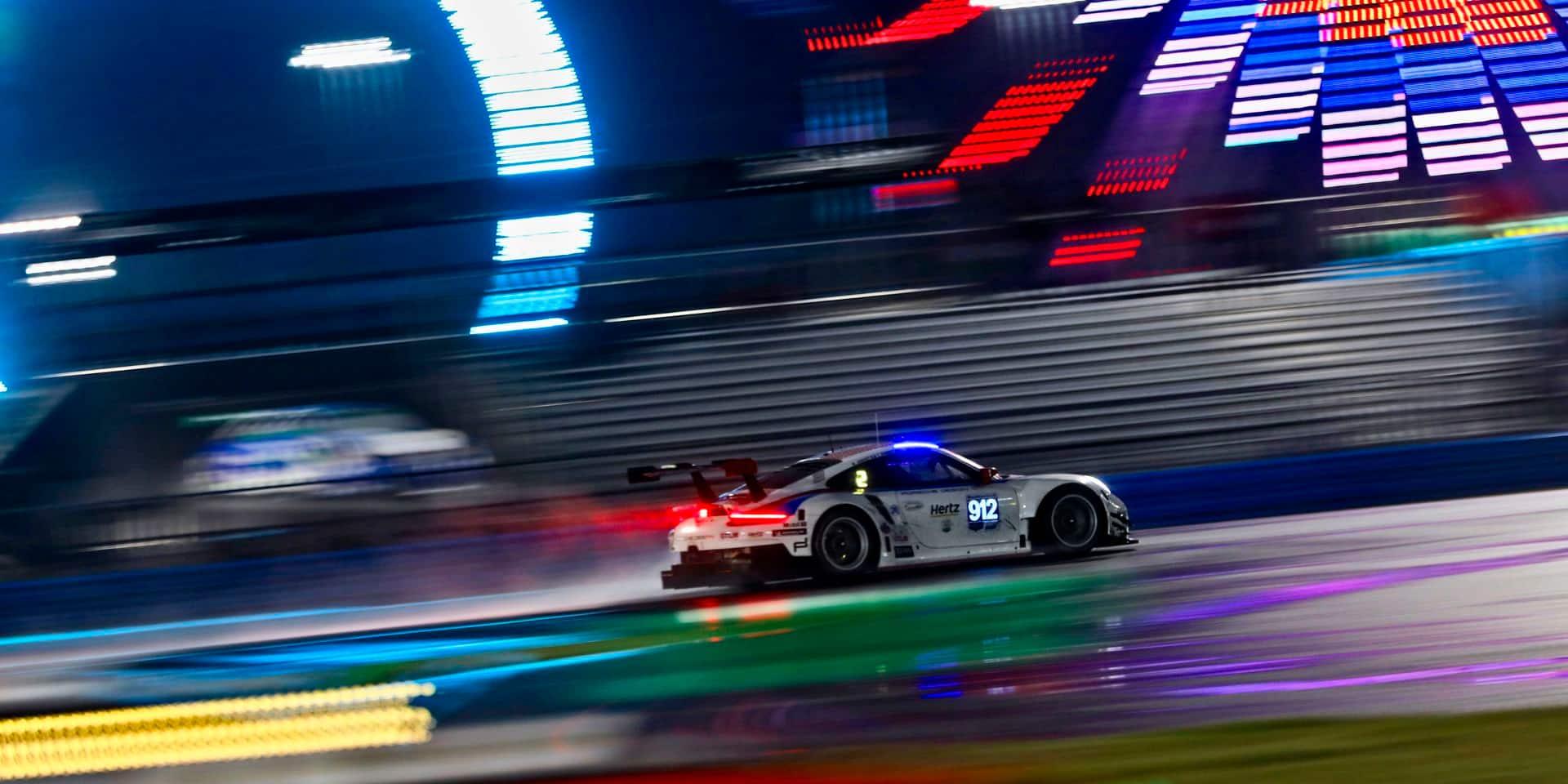 24H Daytona (H21) : la Cadillac d'Alonso en tête, les Belges toujours en lice pour un podium