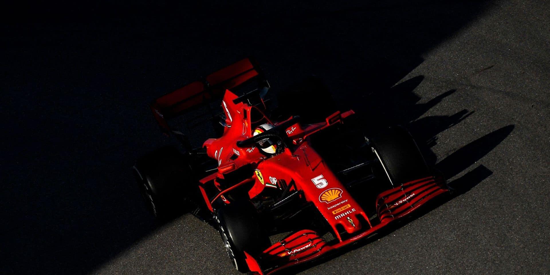 """Sebastian Vettel reconnaît avoir échoué chez Ferrari: """"je n'y suis pas arrivé"""""""