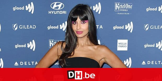 BEVERLY HILLS, CALIFORNIA - MARCH 28: Jameela Jamil attends the 30th Annual GLAAD Media Awards at The Beverly Hilton Hotel on March 28, 2019 in Beverly Hills, California. Frazer Harrison/Getty Images/AFP == FOR NEWSPAPERS, INTERNET, TELCOS & TELEVISION USE ONLY ==