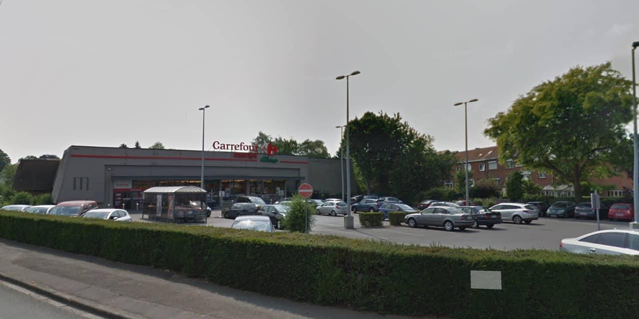Braquage au Carrefour Market de Braine-le-Comte