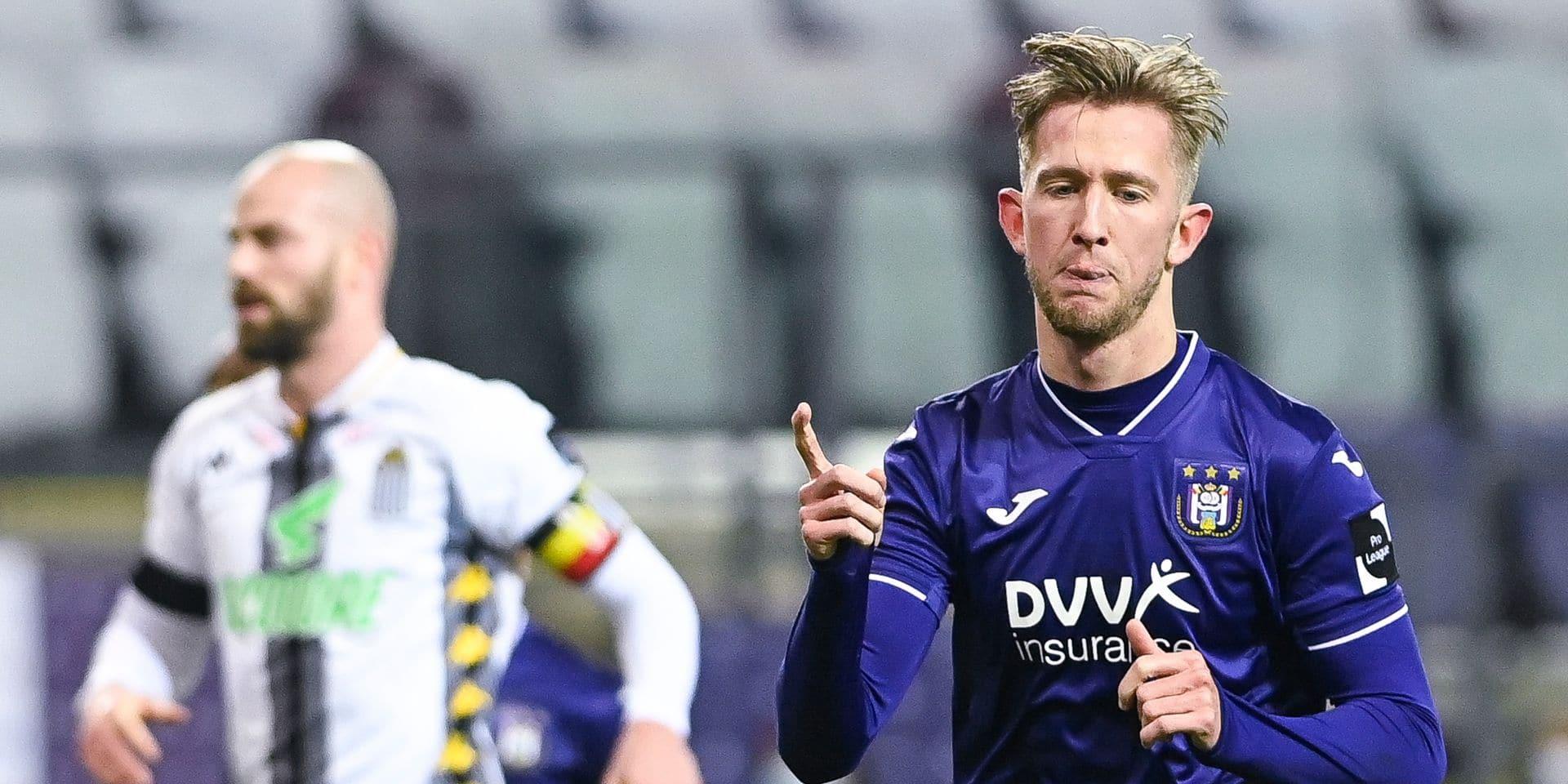 """""""Je veux rester à Anderlecht"""": les réactions après Anderlecht-Charleroi"""