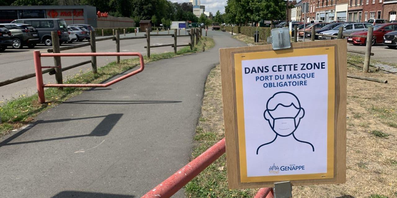 Le masque devient obligatoire dans le centre-ville de Genappe