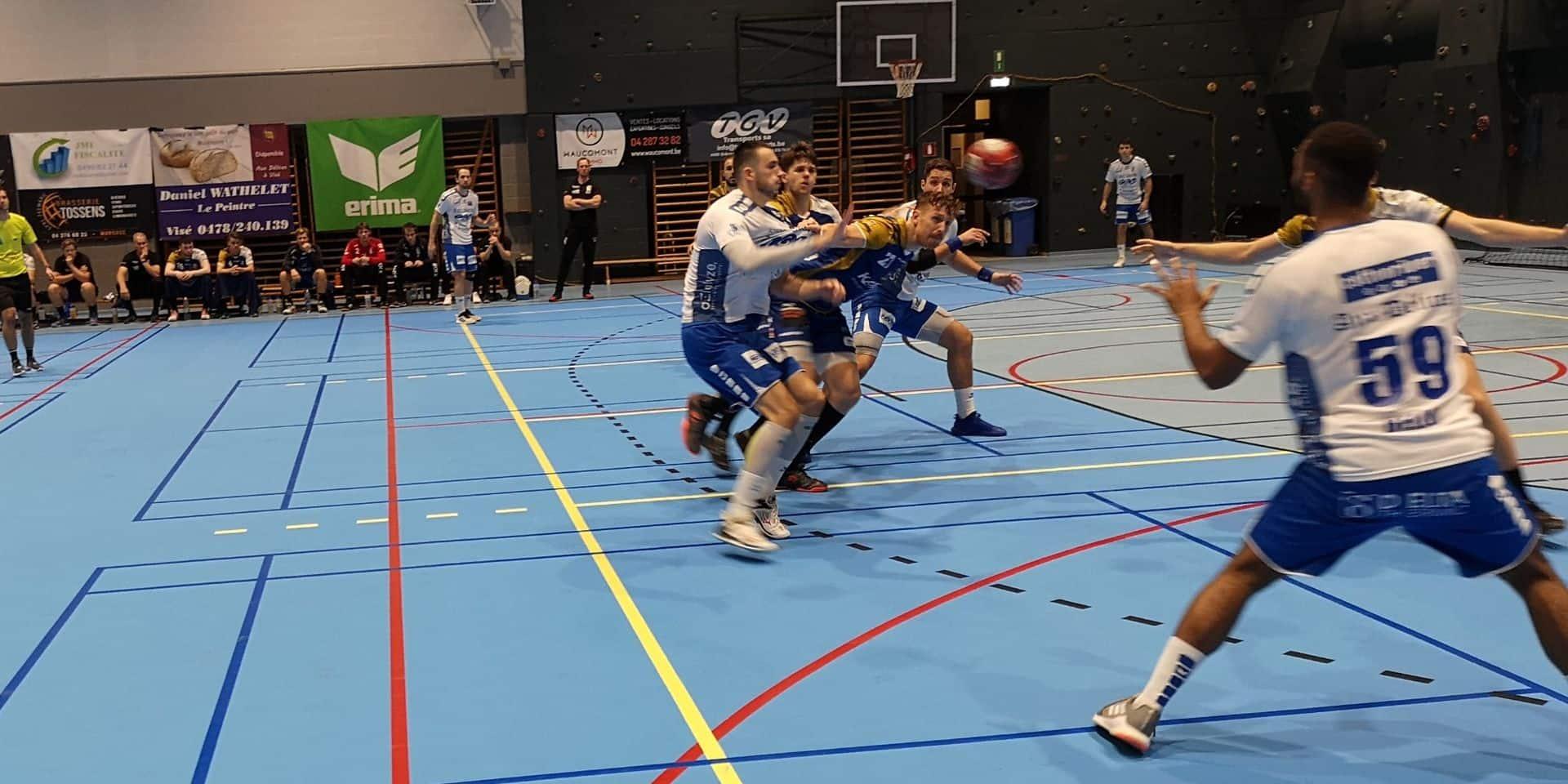Handball: Visé perd un nouveau point à domicile