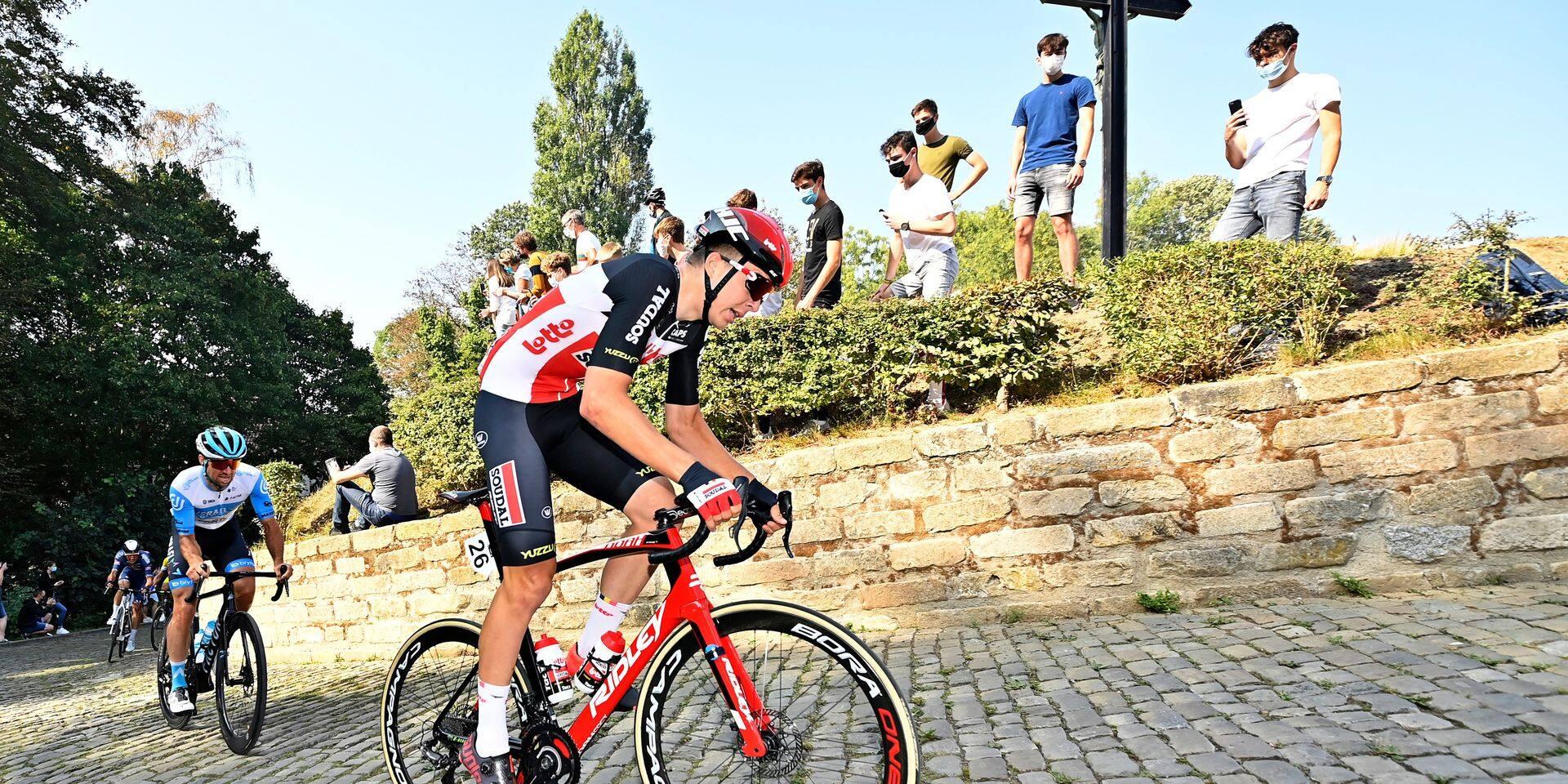 """Florian Vermeersch, le jeune qui monte chez Lotto, va découvrir le Tour des Flandres: """"Je serai au service de nos leaders"""""""