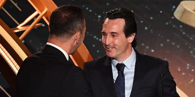 Unai Emery élu meilleur entraîneur de Ligue 1 avant son départ du PSG - La DH