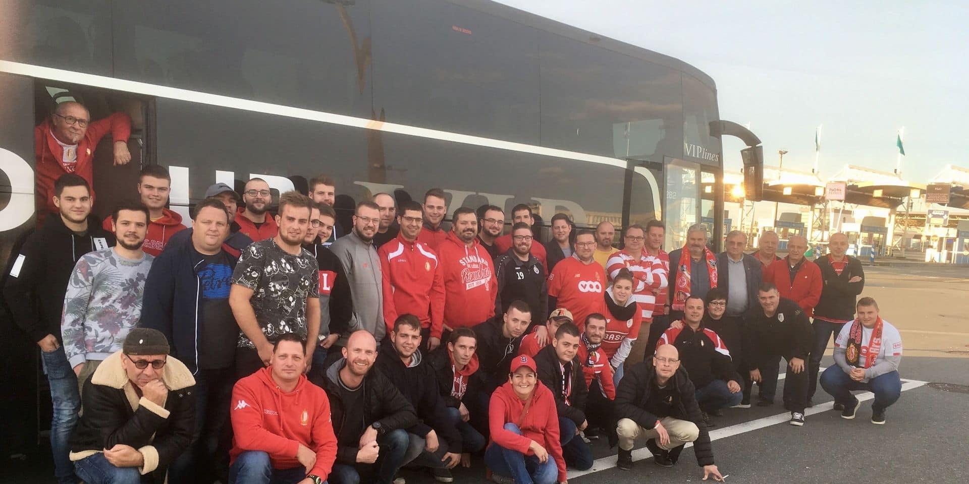 En immersion avec les fans du Standard à Arsenal: revivez la journée contrastée des Rouches