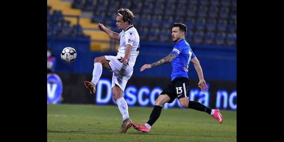 Titularisé avec Voluntari en Roumanie, Martin Remacle (ex-Standard, ex-Torino) retrouve la vie de footballeur professionnel
