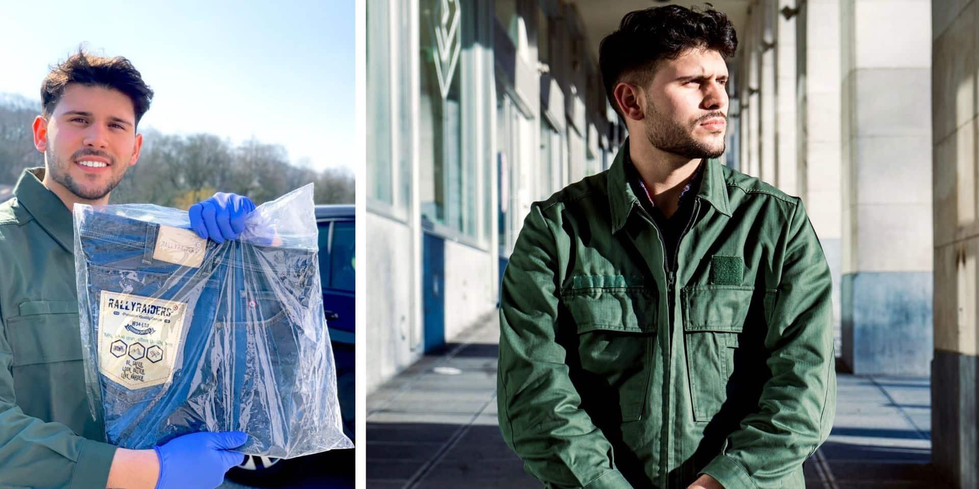 Du Sporting de Charleroi à la mode, l'inusable créativité de Luca Arcangeli