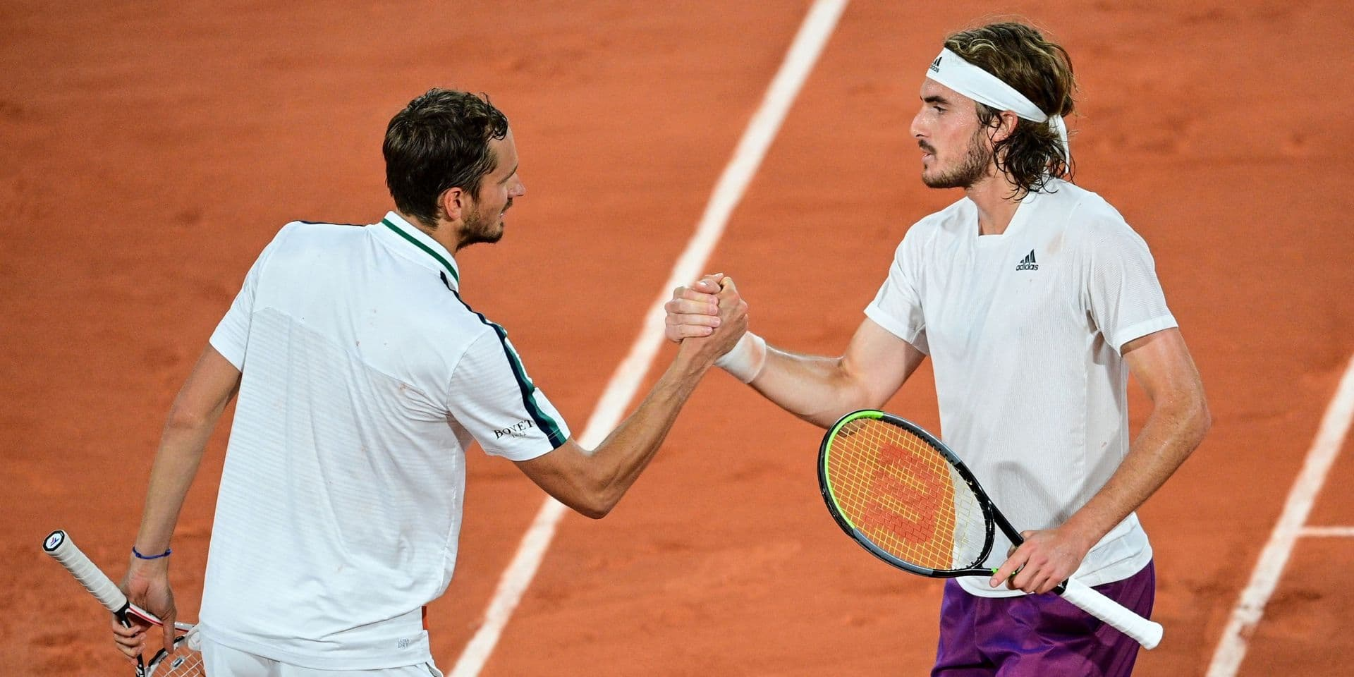 Tsitsipas et Medvedev, un cap à passer à Wimbledon